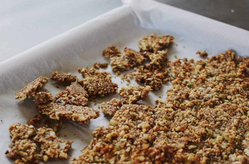grain-free pumpkin granola (keto + gluten-free)