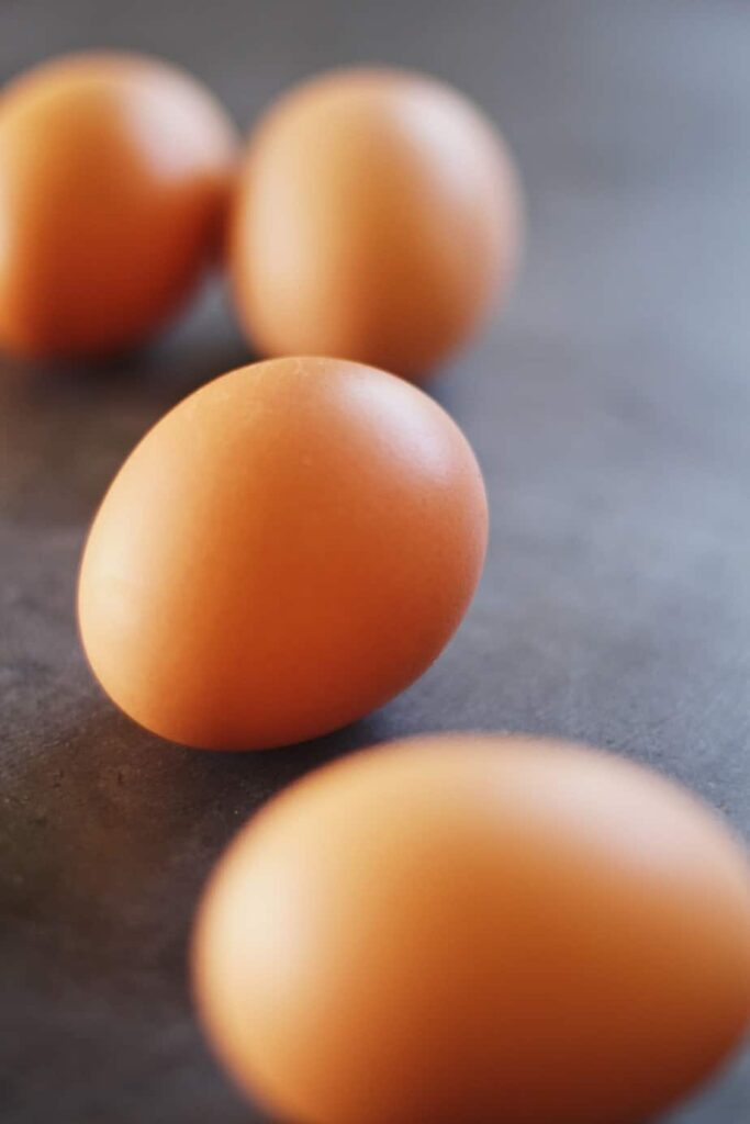 eggs for savory almond meal bread
