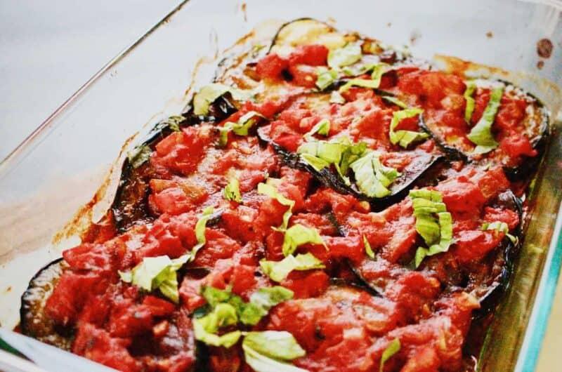 turkish eggplant casserole (keto + vegan)