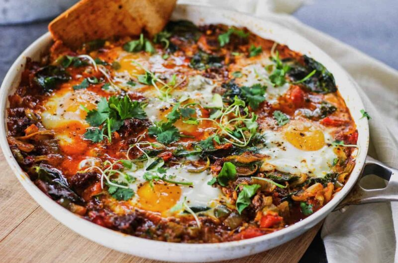 low-carb shakshuka