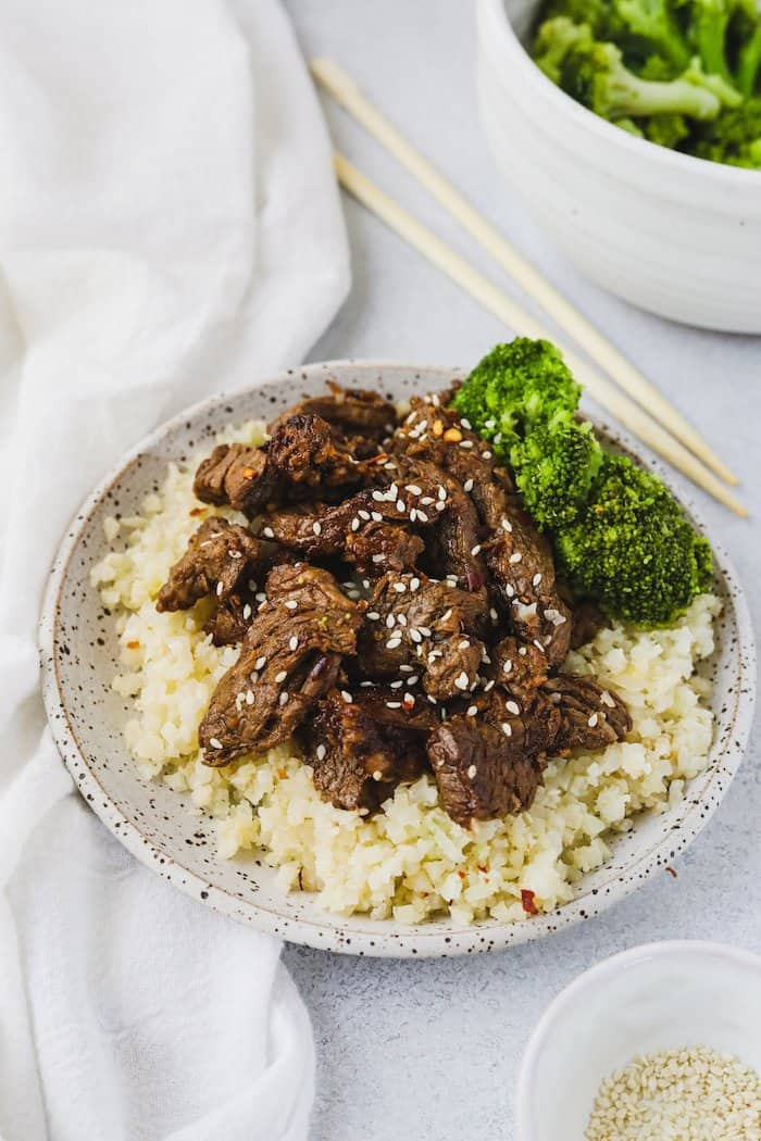 Low Carb Beef Bulgogi Gluten Free Sugar Free Stem Spoon