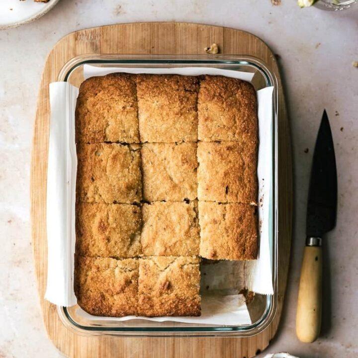 keto banana bread {gluten-free + low-carb}